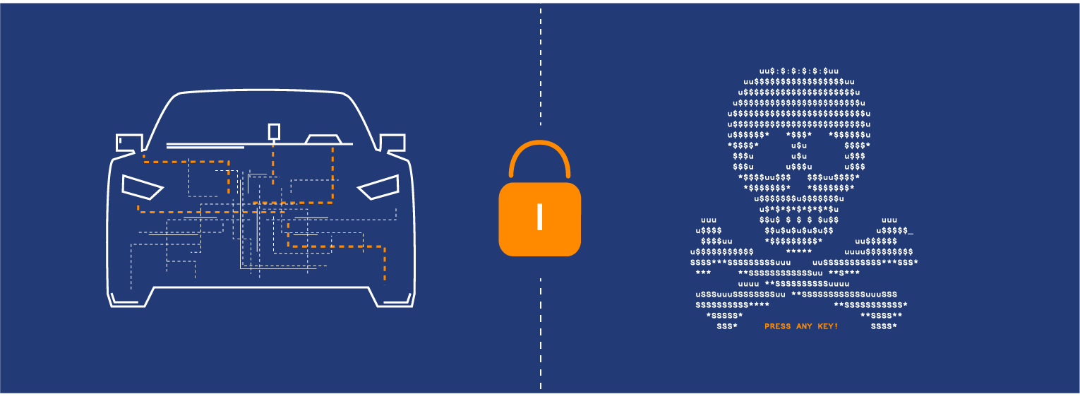 Automotive vehicle ransomware for vehicles as vehicle hacking strategy is coming