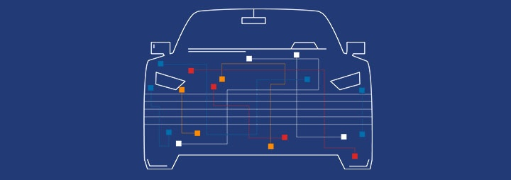 Illustration of CAN bus in connected cars and the vulnerability for CAN bus hacking