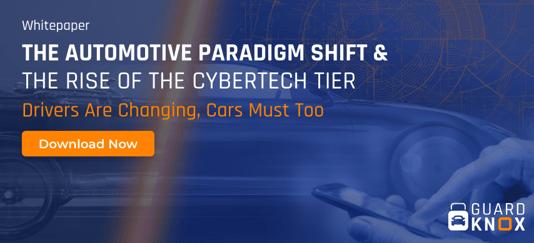 THE AUTOMOTIVE PARADIGM SHIFT - Blog banner